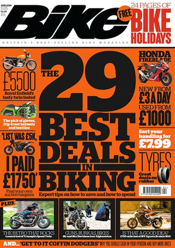 BK201904 Bike Magazine April 2019 - latest issue