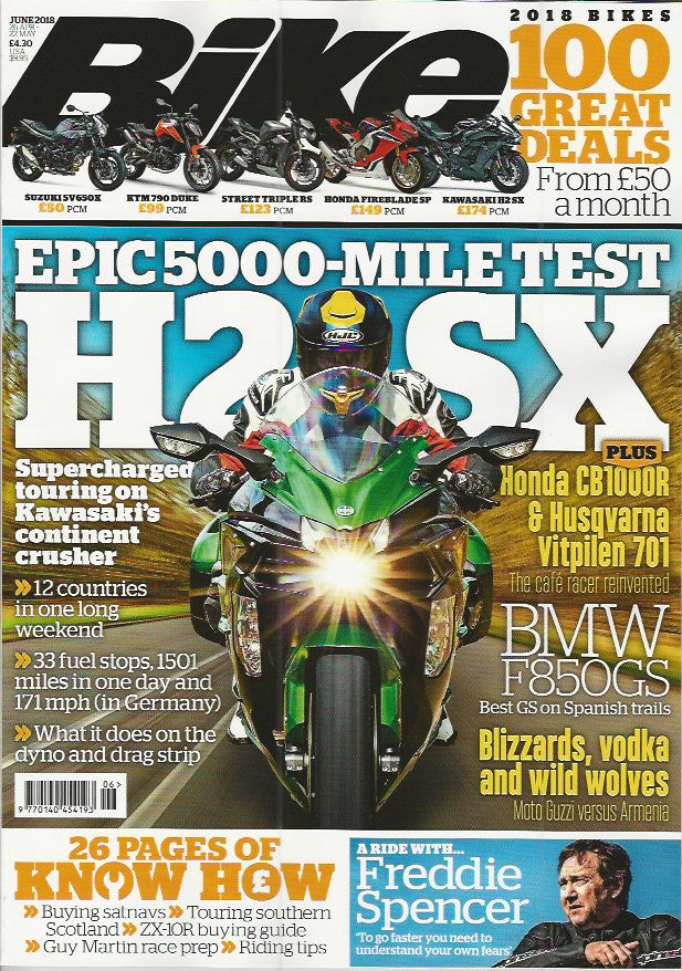 BK201806 Bike June 2018