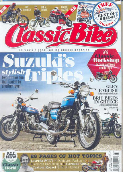CB201707 Classic Bike Magazine July 2017