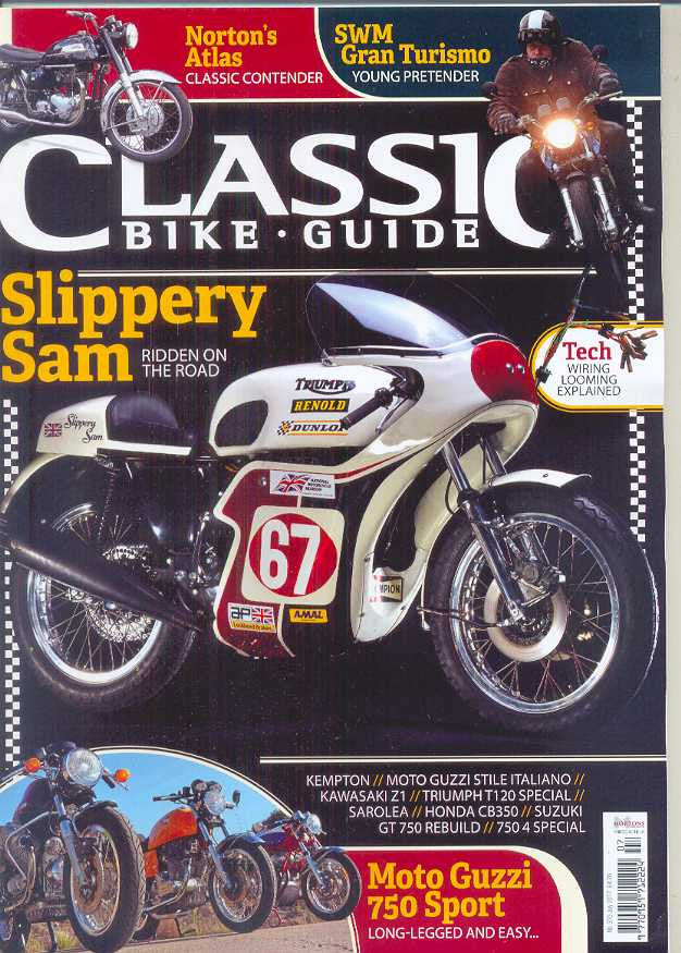 CBG201707 Classic Bike Guide July 2017