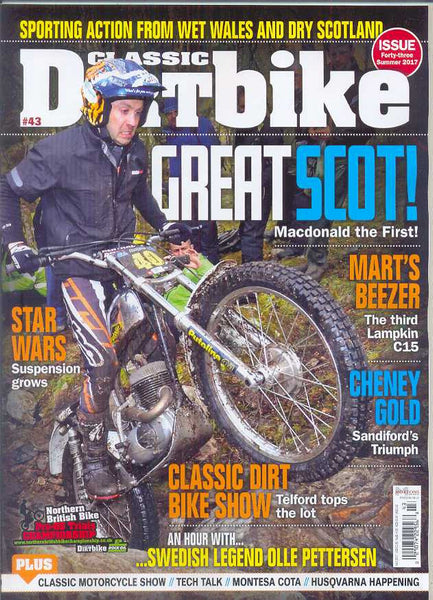 CDB201706 Classic Dirt Bike Magazine Summer 2017 - Latest Issue