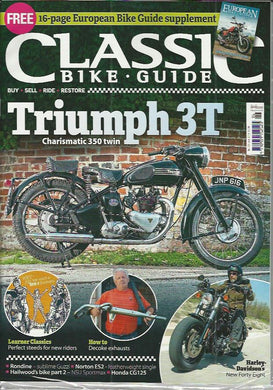 CBG201806 Classic Bike Guide June 2018 - Latest Issue