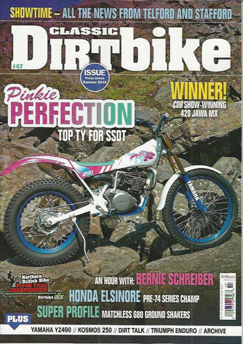 CDB201806 Classic Dirt Bike Magazine Summer 2018 - latest issue