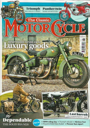 TCM201806 The Classic Motorcycle June 2018 - Latest Issue