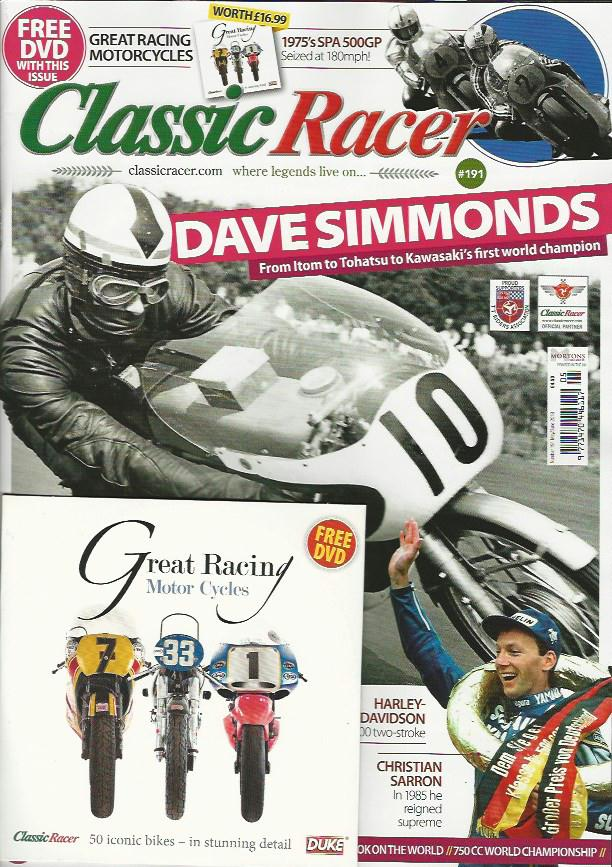 CR201806 Classic Racer May/June 2018 #191 - Latest Issue