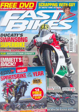 FB201709 Fast Bikes September 2017 - Latest issue
