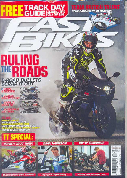 FB201707 Fast Bikes July 2017 - Latest issue