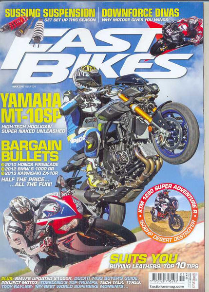 FB201705 Fast Bikes May 2017 - Latest issue