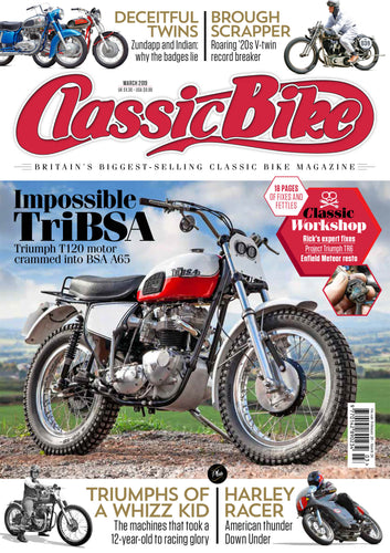 CB201903 Classic Bike Magazine March 2019 - latest issue