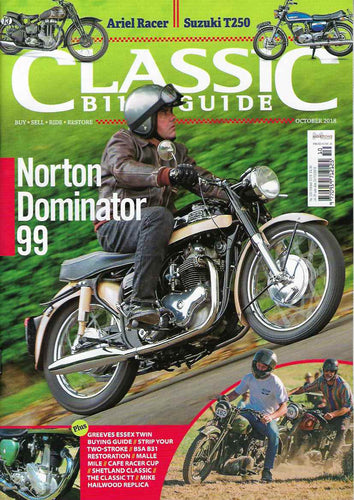 CBG201810 Classic Bike Guide October 2018