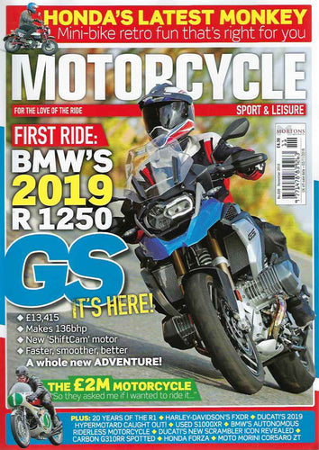 MSL201811 Motorcycle Sport & Leisure November 2018 - Latest Issue