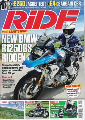RD201812 Ride December 2018 - Latest Issue