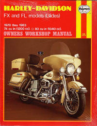 Harley-Davidson FX and FL Models (Haynes)
