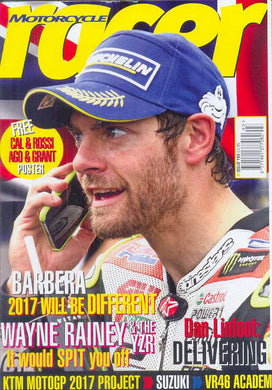 Motorcycle Racer Subscription - 1 year/11-12 issues