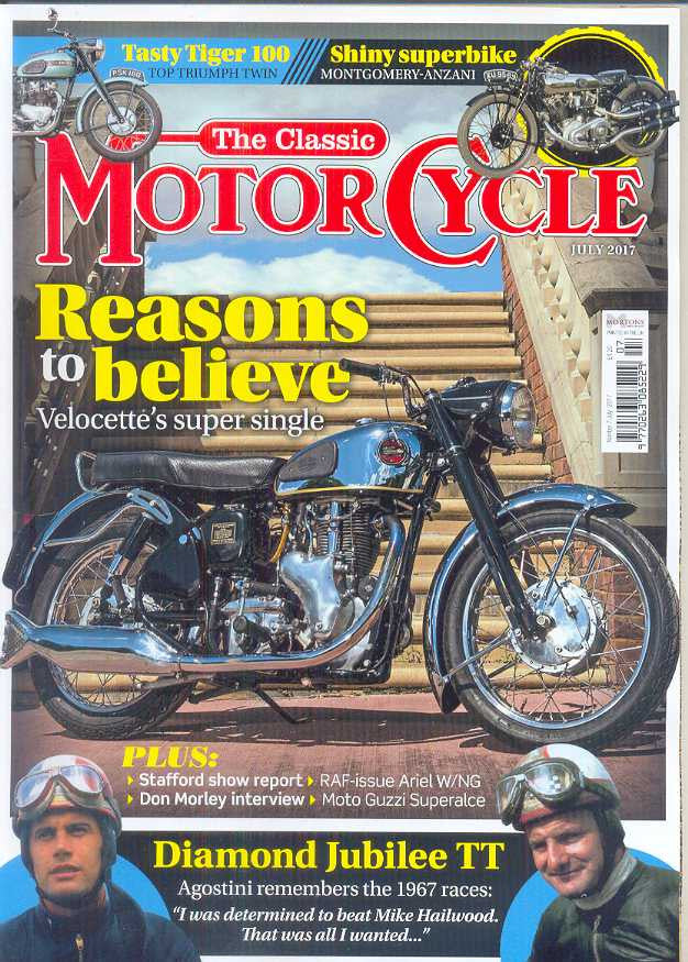 TCM201707 The Classic Motorcycle July 2017