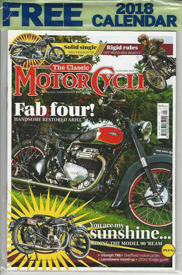 TCM201801 The Classic Motorcycle January 2018 - latest issue