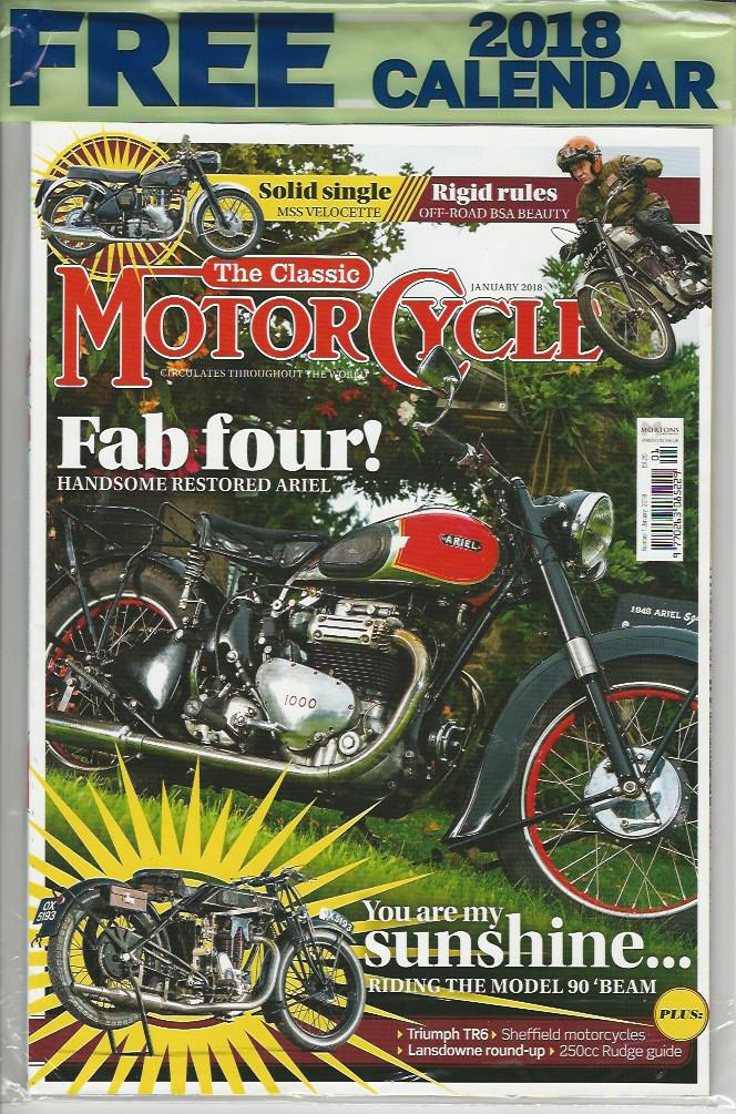 TCM201801 The Classic Motorcycle January 2018