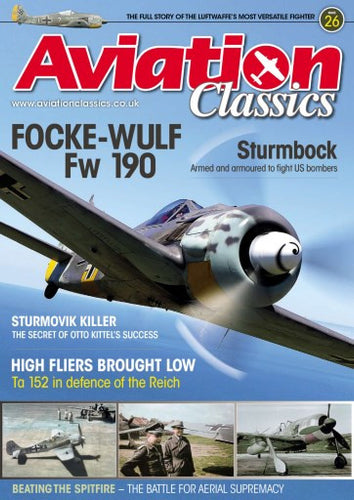 Aviation Classics - 26 Focke-Wulf fw190