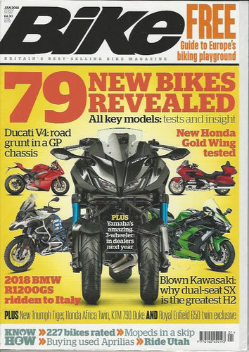 BK201801 Bike January 2018