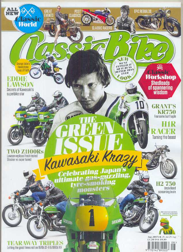 CB201708 Classic Bike Magazine August 2017