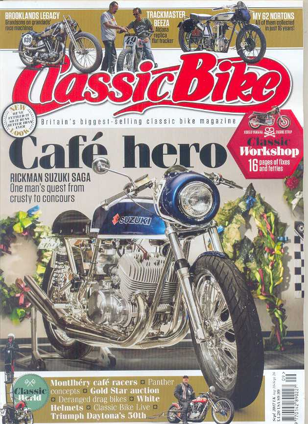 CB201709 Classic Bike Magazine September 2017
