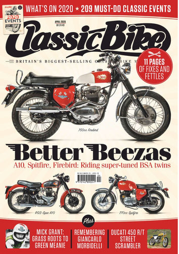 CB202004 Classic Bike Magazine April 2020