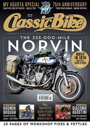 CB202005 Classic Bike Magazine May 2020  - latest issue