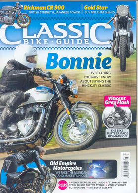 CBG201709 Classic Bike Guide September 2017 - Latest issue