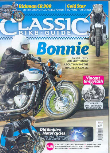 CBG201709 Classic Bike Guide September 2017