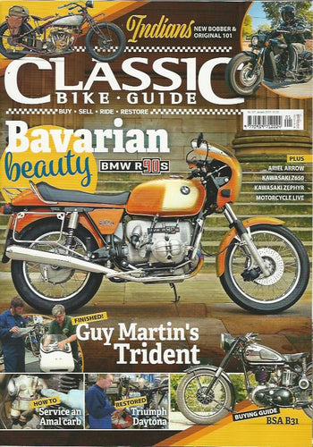 CBG201801 Classic Bike Guide January 2018