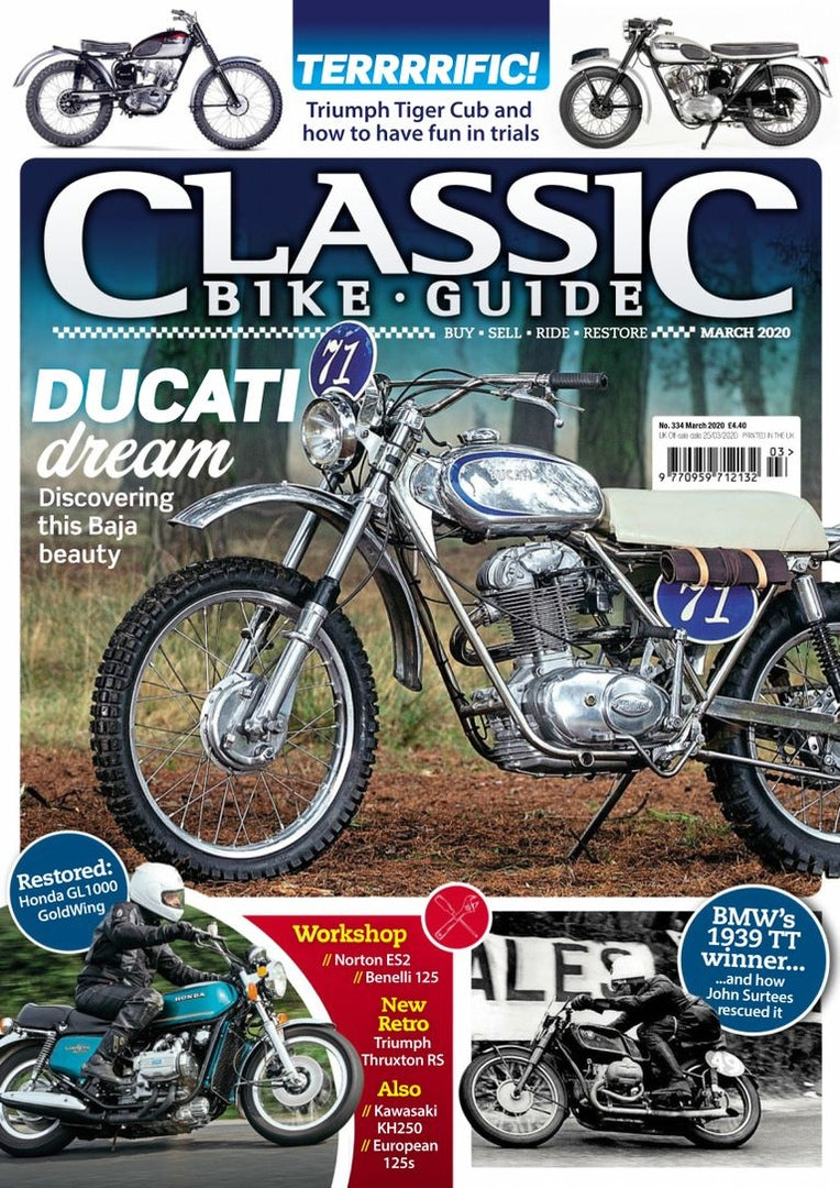 CBG202003 Classic Bike Guide March 2020 - latest issue