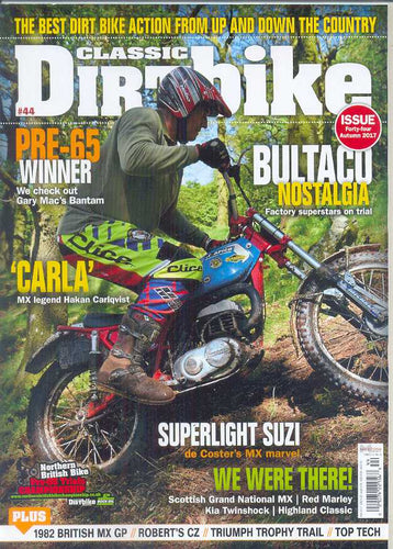 CDB201709 Classic Dirt Bike Magazine Autumn 2017