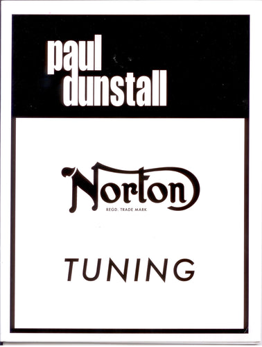Norton Tuning by Paul Dunstall