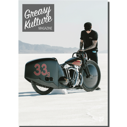 Greasy Kulture Magazine 64 - latest issue