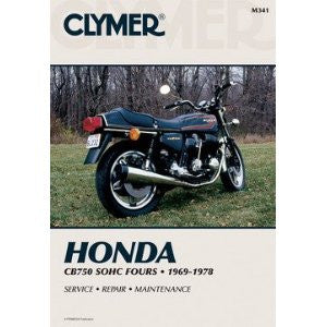 Clymer Honda CB750 SOHC Fours Repair Manual