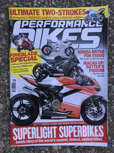 PB201701 Performance Bikes January 2017