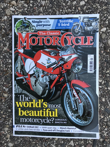 TCM201701 The Classic Motorcycle January 2017