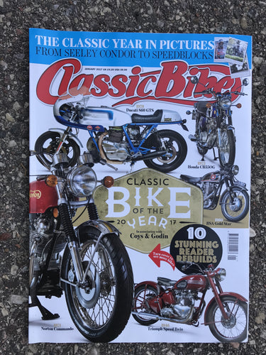 CB201701 Classic Bike Magazine January 2017