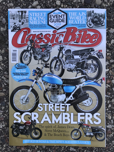 CB201703 Classic Bike Magazine March 2017
