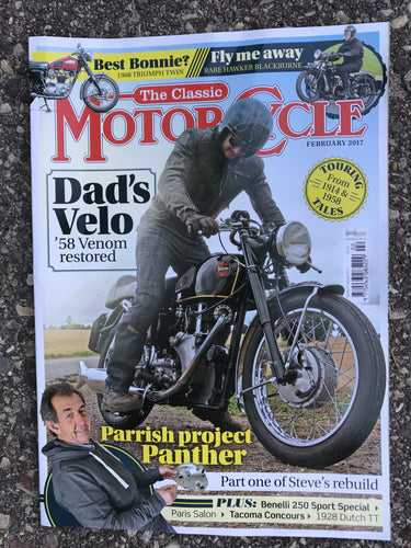 TCM201702 The Classic Motorcycle February 2017