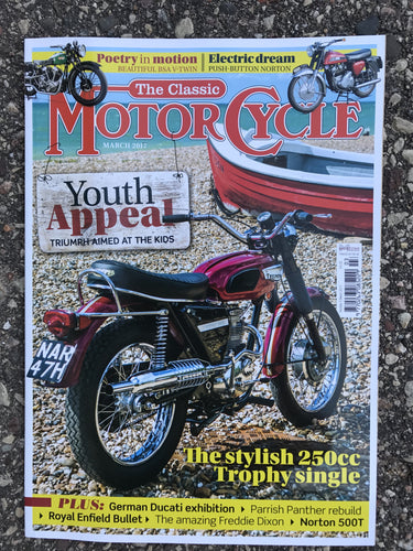 TCM201703 The Classic Motorcycle March 2017