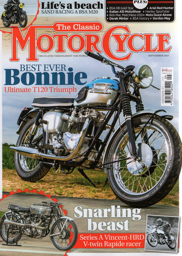 TCM201709 The Classic Motorcycle September 2017