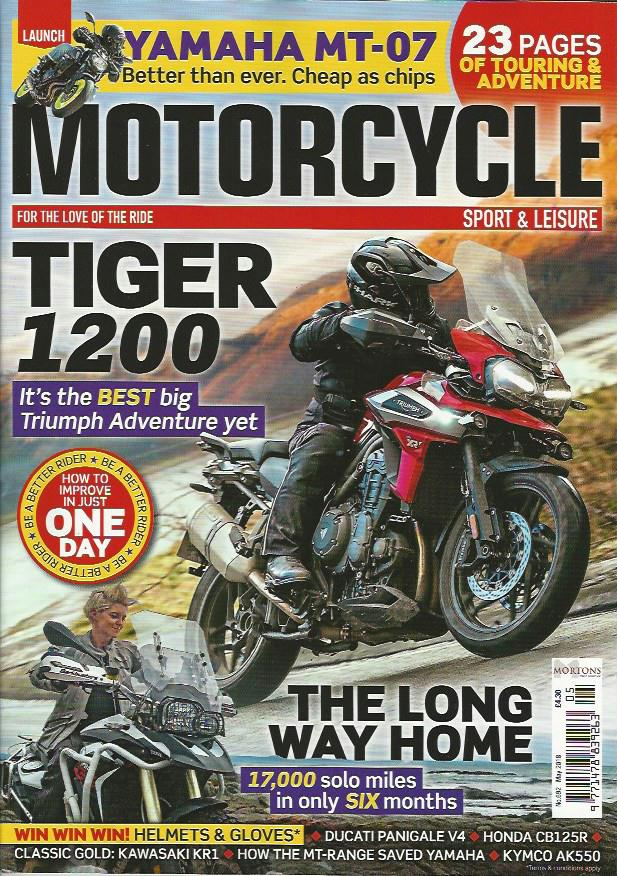 MSL201805 Motorcycle Sport & Leisure May 2018