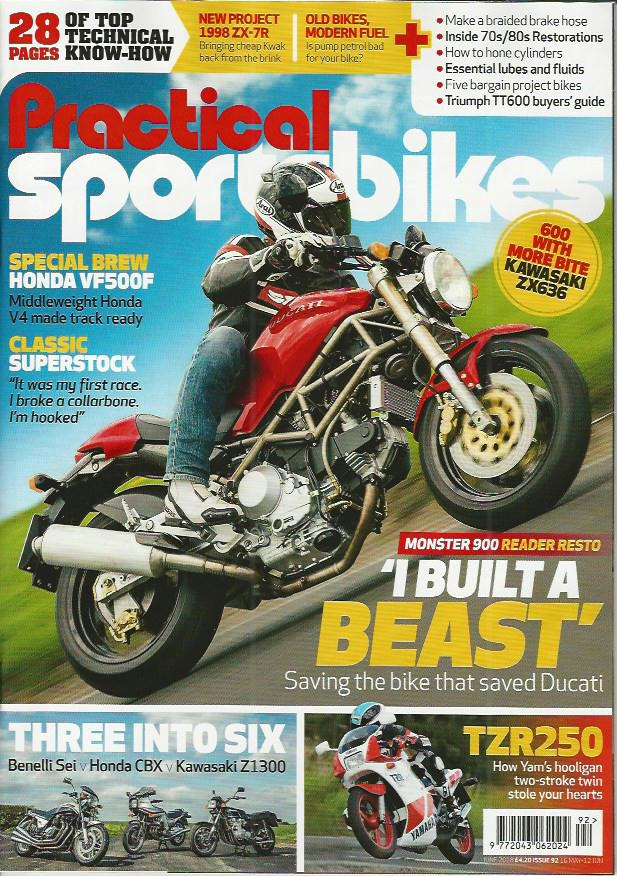 PS201806 Practical Sportsbikes June 2018