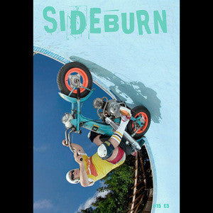 Sideburn #15 - gravity defying cover
