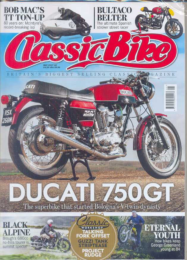 .Classic Bike Magazine Subscription - 1 year/12 issues