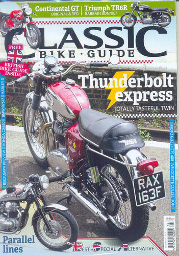 .Classic Bike Guide Subscription - 1 year/12 issues