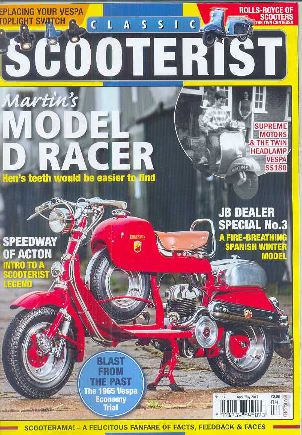 Classic Scooterist Subscription - 1 year/6 issues