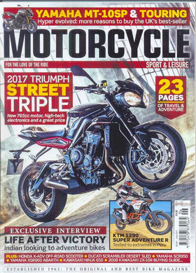 Motorcycle Sport and Leisure Subscription - 1 year/12 issues