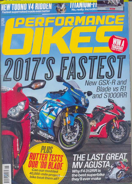 Performance Bikes Subscription - 1 year/12 issues
